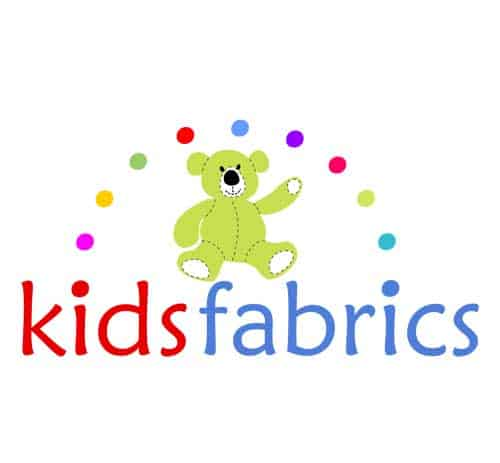 Logo for online shop for kids farbics