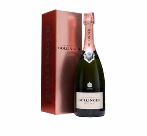 New branding for Rosé Champagne by Bollinger