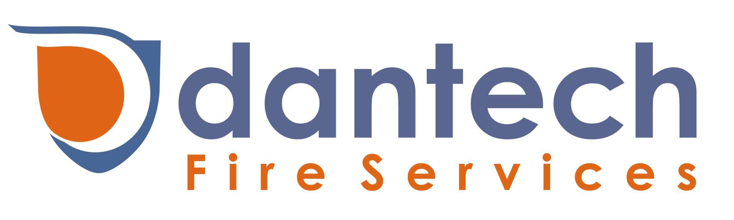 Dantech fire services logo